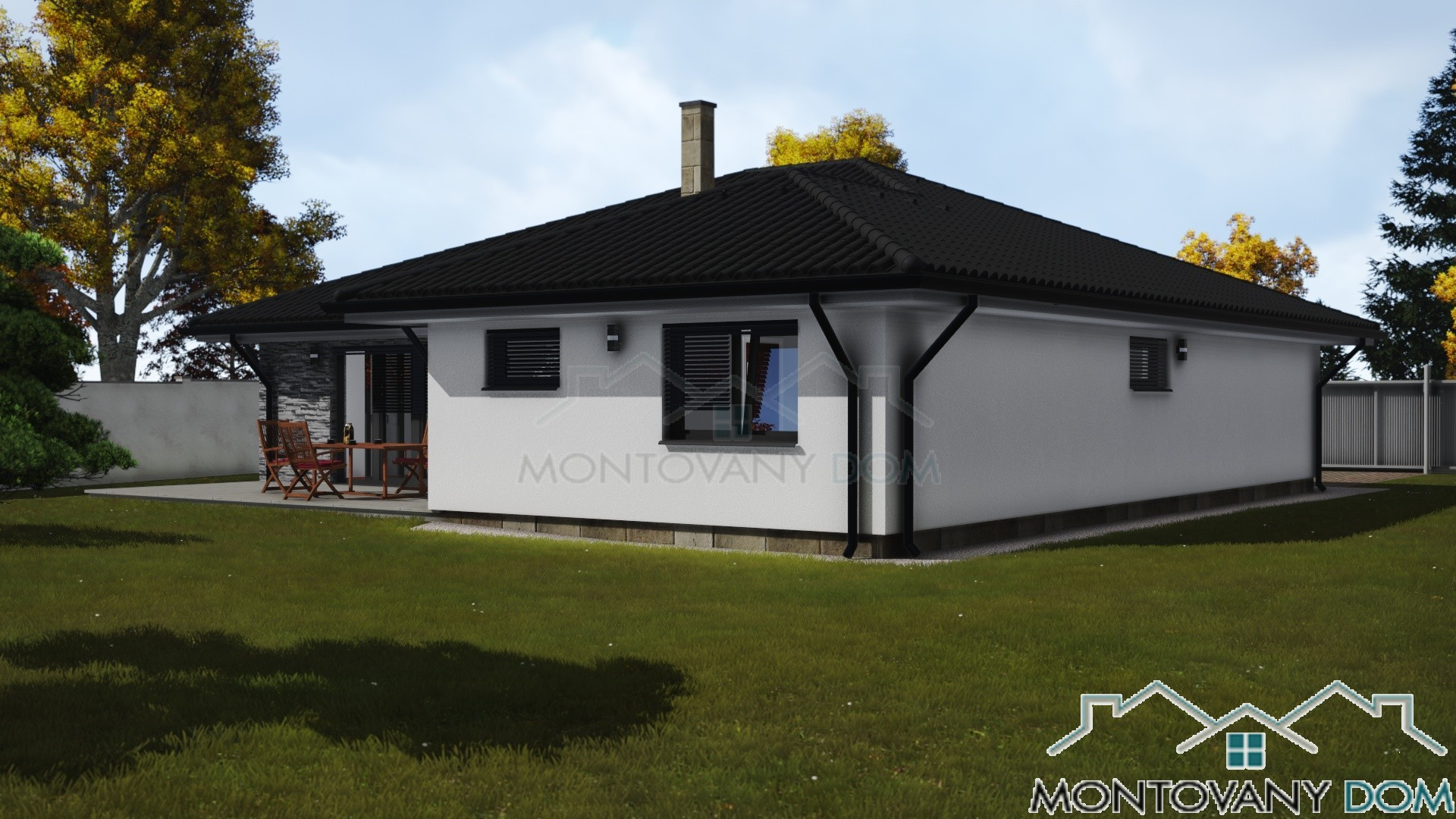 Bungalov Romana Montovaný Dom