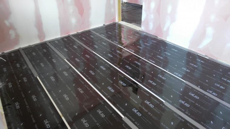 Infra podlahové vykurovanie